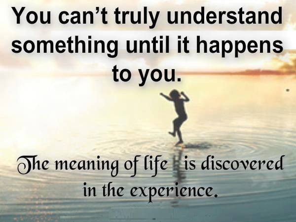interesting experience in your life